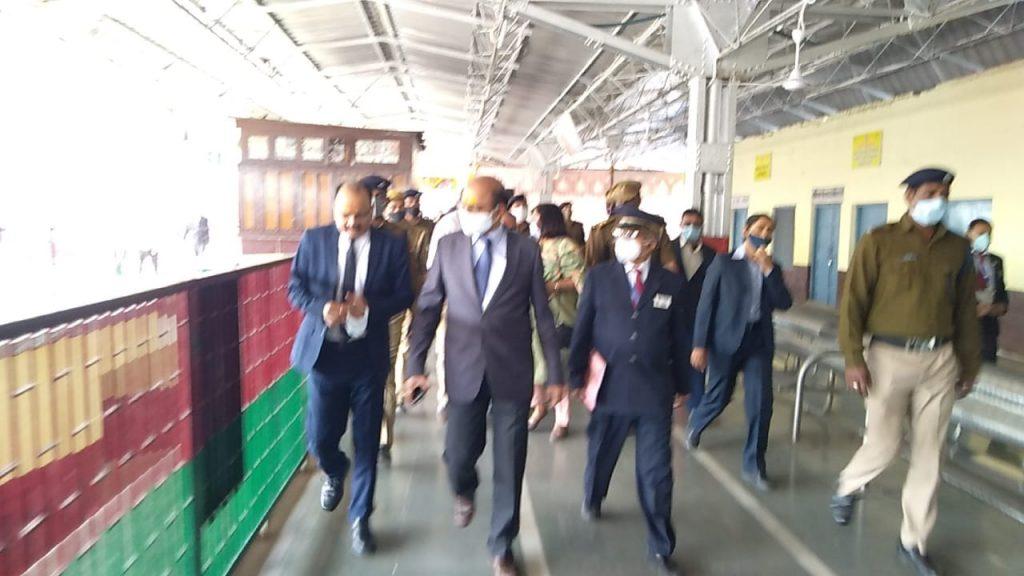 अयोध्या रेलवे स्टेशन पर फेज वन का कार्य होगा अक्टूबर तक पूरा :  उत्तर रेलवे महाप्रबंधक ,आशुतोष गंगल
