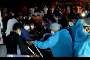विरार अस्पताल  अग्नितांडव में 13 मरीजों की मौत , 6 घायल