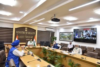 डॉ. हर्षवर्धन की अध्यक्षता में कोविड-19 पर मंत्री समूह की हुई  24 वीं बैठक