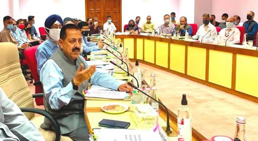 उत्तर पूर्वी राज्यों में कोविड-19 से से मुकाबले के लिए 250 करोड़ रुपये से अधिक आवंटित -डॉ. जितेंद्र सिंह